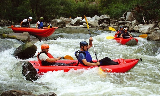 Enjoy Rafting Canoe Safari On Cetina River In Srijane, Split