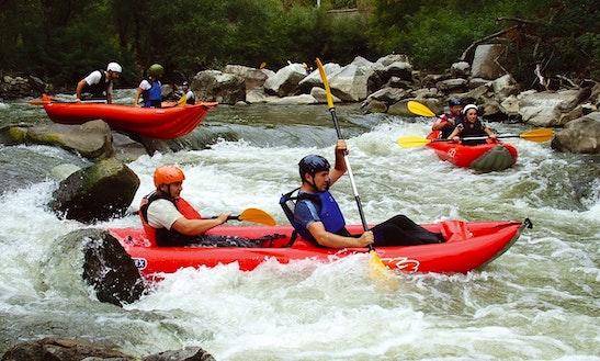 Enjoy Rafting Canoe Safari On Cetina River In Srijane, Split