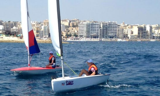 Rent Topper Taz Sailing Dinghy In Rabat, Malta