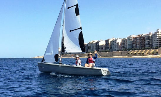 Rent Optimist Sailing Dinghy In Rabat, Malta