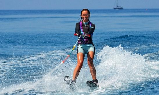 Enjoy Water Skiing In San Pawl Il-baħar, Malta