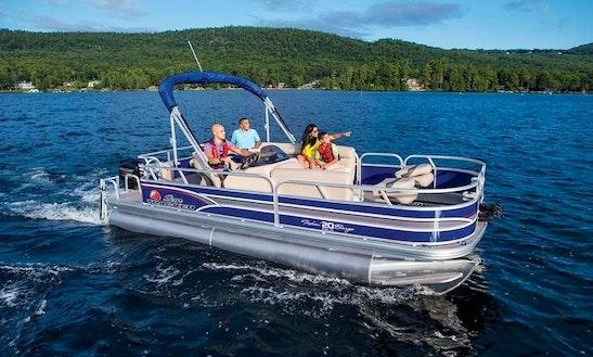 Pontoon Boat Rental  In Magnolia, Texas
