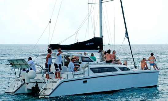 42' Cruising Catamaran Charter In Quintana Roo, Mexico