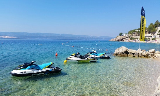 Rent Seadoo Jet Ski In Omiš, Croatia