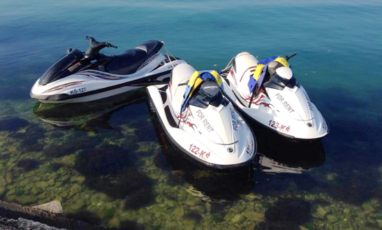 Rent A Jet Ski At Ruskamen Beach In Omiš, Croatia
