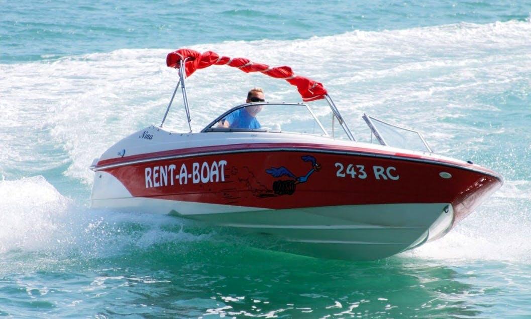 Rent the 22' Vectra Sport Power Boat in Labin, Croatia