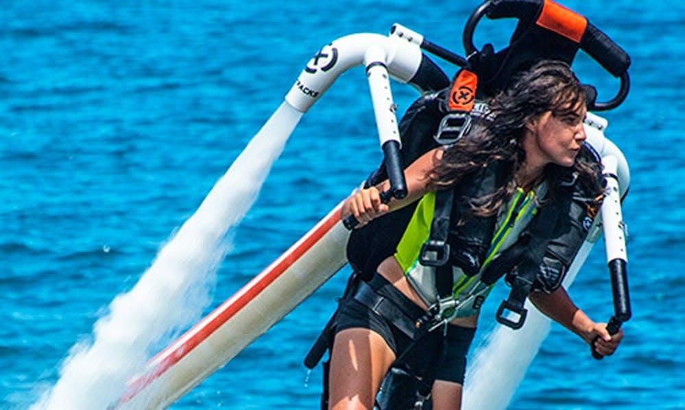 Enjoy Jet Pack in San Ġiljan, Malta