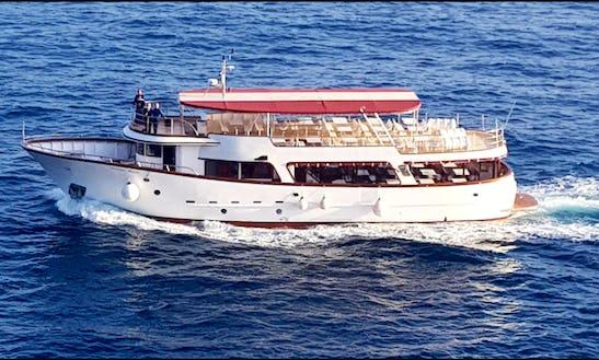 Charter 84' Trawler In Dubrovnik, Croatia