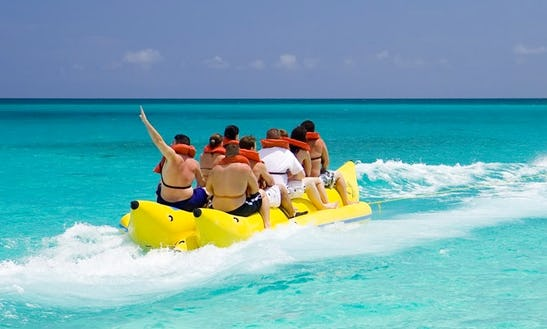 Book An Unforgettable Banana Boat Ride In San Ġiljan, Malta