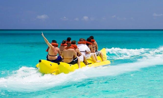 Book an Unforgettable Banana Boat Ride in San Ġiljan, Malta
