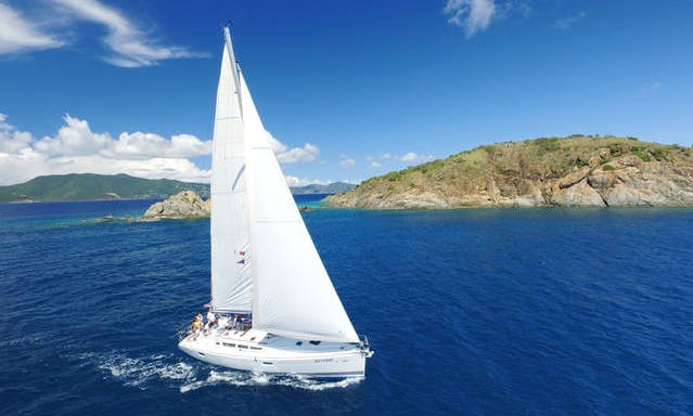 "Sailing Charter On 42ft ""Reverie"" Jeanneau Cruising Monohull In Tortola, British Virgin Islands"