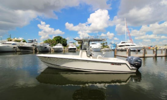 23' Contender Center Console Rental In Tortola, British Virgin Islands