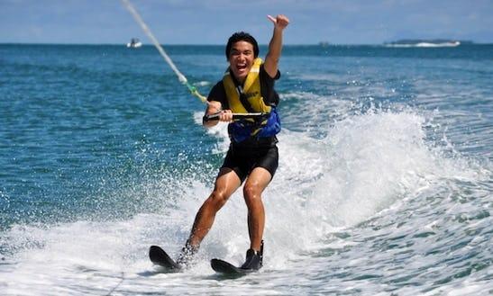 Water Skiing In Miami Beach