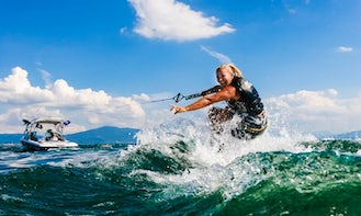 Enjoy a Wakeboarding Boat Charter in Miami Beach