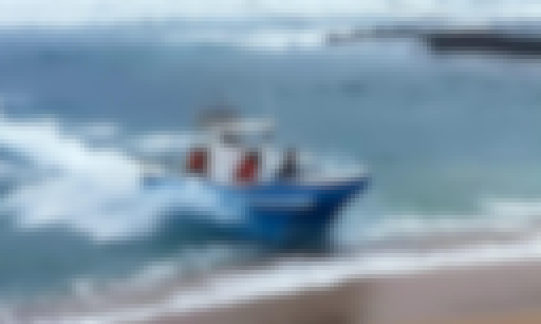 Enjoy Fishing at Shelly Beach, Kwazulu-Natal, South Africa on Cuddy Cabin