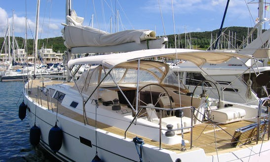 Sailing Charter On 54' Hanse Cruising Monohull In Portiglioni, Italy