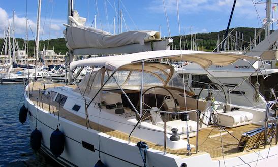 Sailing Charter On 54' Hanse Cruising Monohull In Portiglioni, Italy