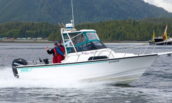 Enjoy Fishing In Tofino, Canada With Captain Carmen