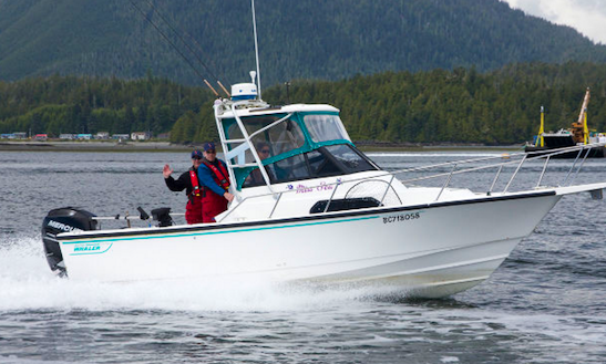 Enjoy Fishing In Tofino, Canada With Captain Carmen