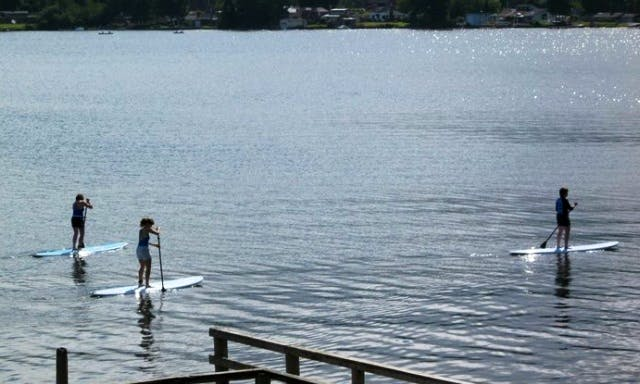 Stand up Paddle Board Lessons in Lincoln City