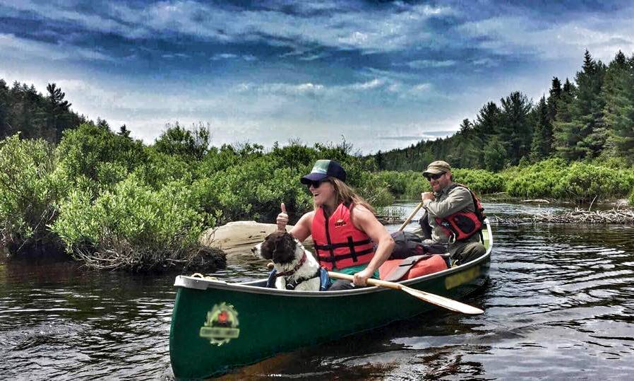Guided Canoe Trips in Algonquin Park and French River in Ontario, Canada