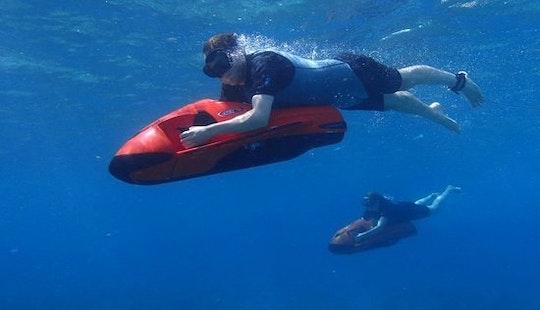 Enjoy Seabob Rides At Eagle Beach In Noord, Aruba