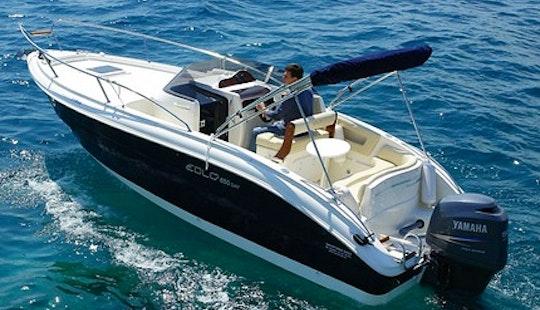 Rent 21' Eolo 650 Motor Yacht In Bibinje, Croatia