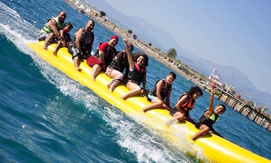 Enjoy Banana Rides In Antalya, Turkey
