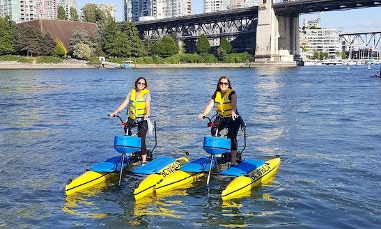 Water Bike Rental In Vancouver, Canada