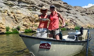 Guided Lower Gunnison Gorge Fishing Trip with Jason