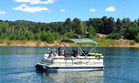 Enjoy Mcphee Reservoir On 19' Sedona Pontoon Boat