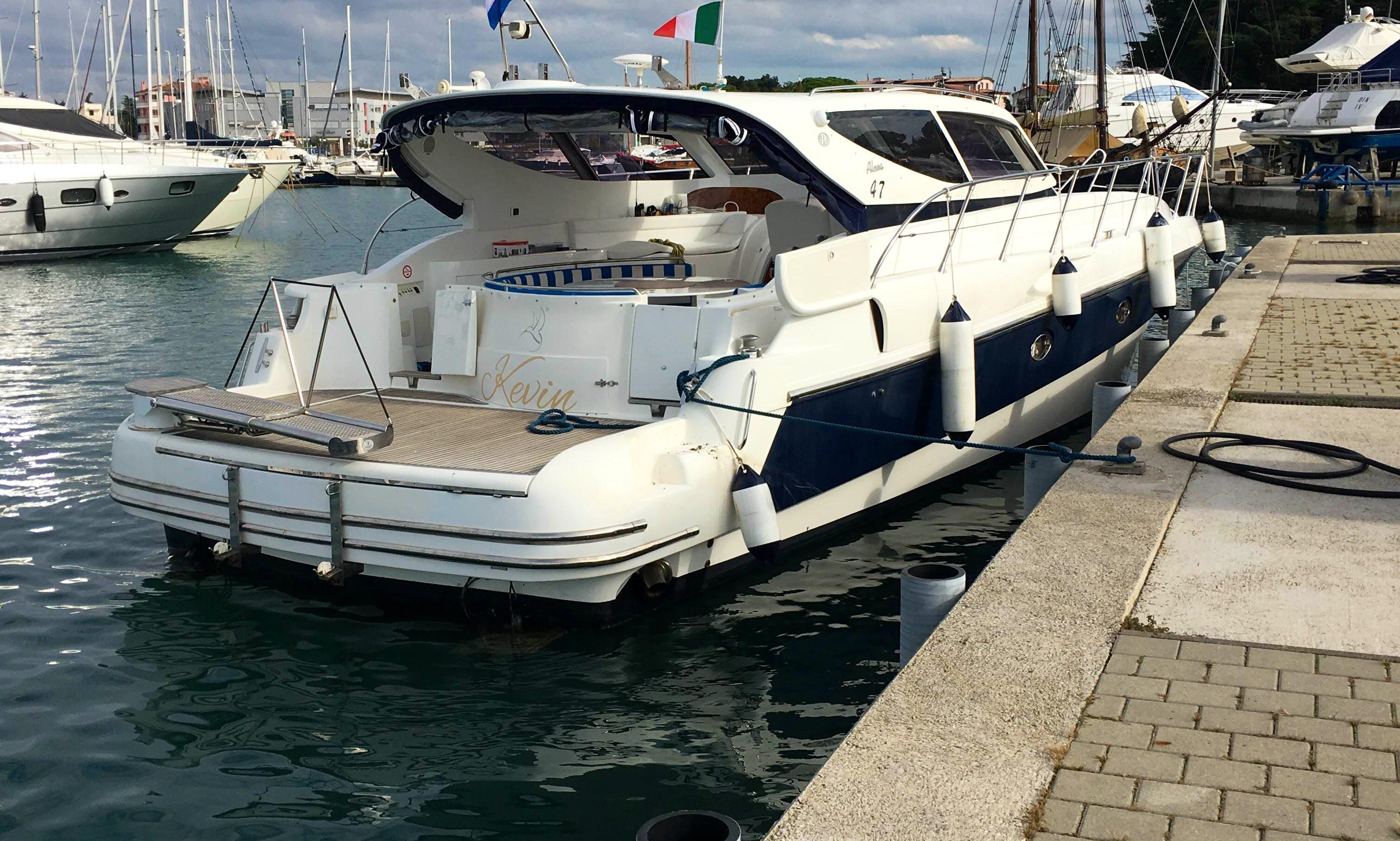 Charter a Alena 47 Motor Yacht in Novigrad, Croatia