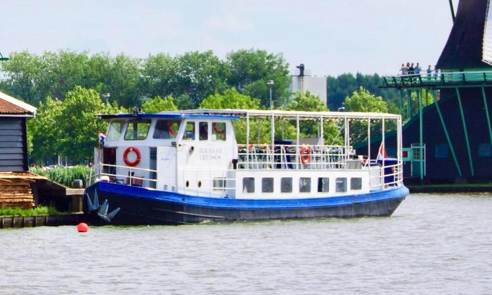 Enjoy Cruising in Alkmaar, Noord-Holland on Amalia Passenger Boat