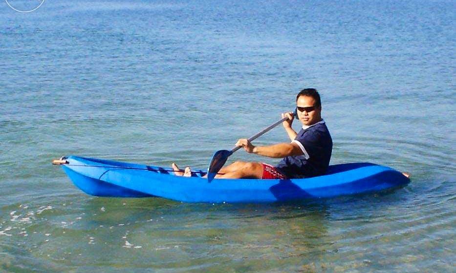 Rent a Single Kayak in Oroklini, Larnaca