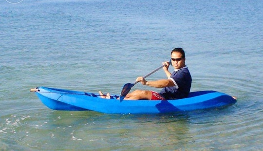 Rent A Single Kayak In Oroklini, Larnaca
