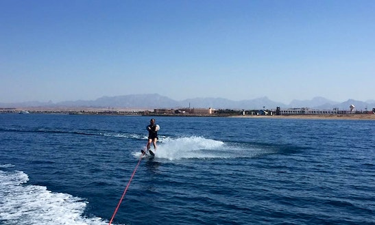 Water Skiing Is Exciting In Red Sea Governorate, Egypt