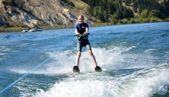 Enjoy Water Skiing In Oroklini, Larnaca