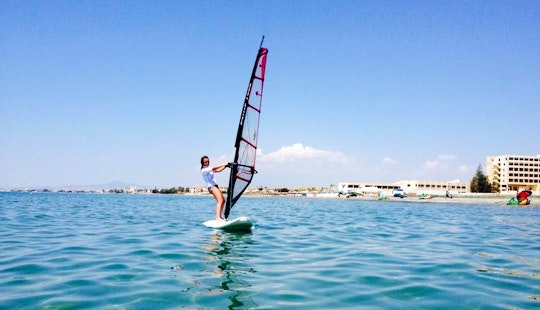 Enjoy Windsurfing In Oroklini, Larnaca