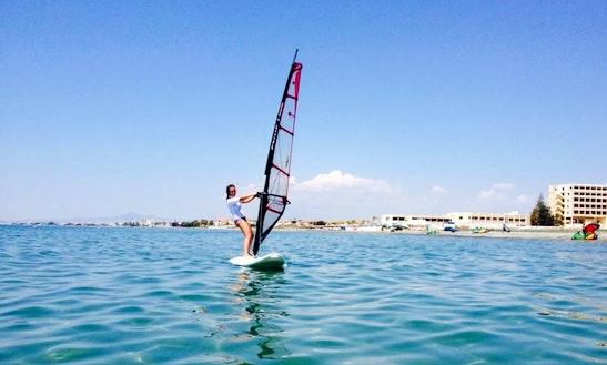 Enjoy Windsurfing In Oroklini, Larnaca