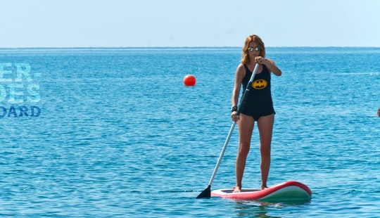 Rent A Stand Up Paddleboard In Oroklini, Larnaca