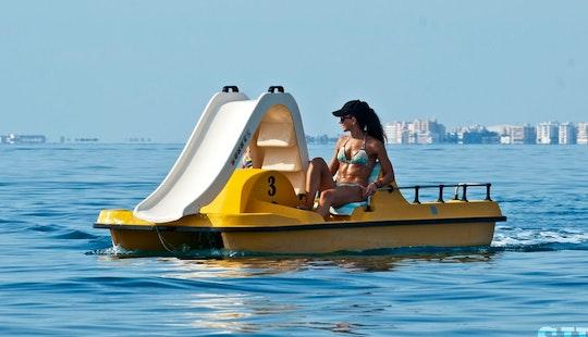 Rent A Paddle Boat In Oroklini, Larnaca