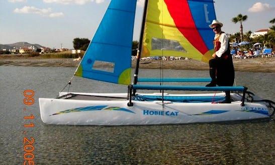 4 Person Hobie Catamaran For Rent In Oroklini, Larnaca