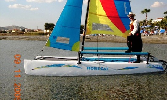 4 Person Hobie Catamaran For Rent In Oroklini, Larnaca