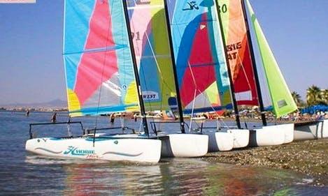 Rent Hobie Beach Catamaran for 2 Person in Oroklini, Larnaca