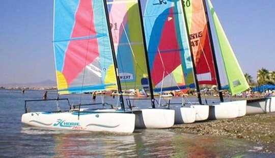 Rent Hobie Beach Catamaran For 2 Person In Oroklini, Larnaca