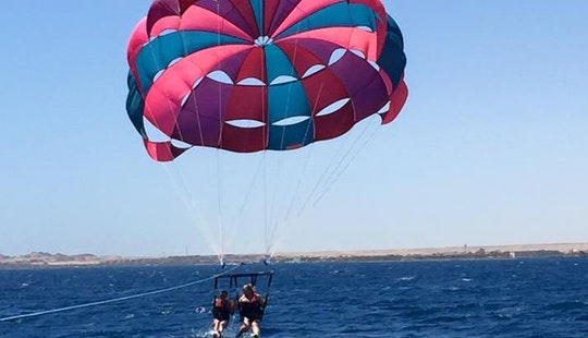Enjoy Double Parasailing In Red Sea Governorate, Egypt
