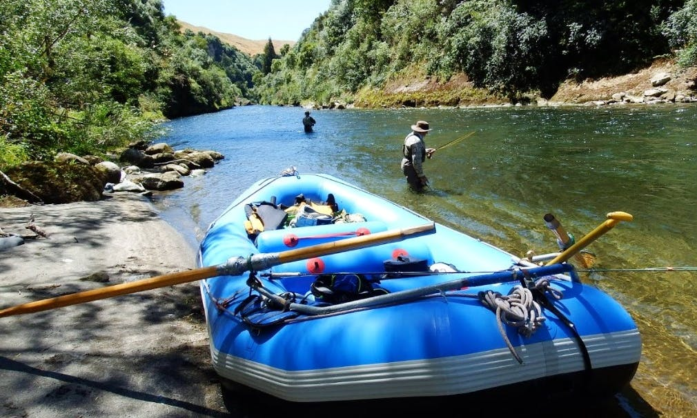 Guided Trout Fishing Tour  on Mohaka river in Te Haroto , New Zealand