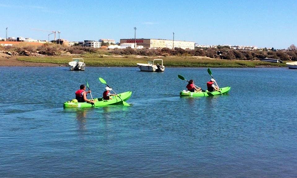 Enjoy Kayak Rentals in Tavira, Portugal