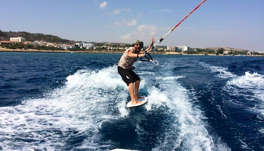Enjoy Wakesurfing In Protaras, Cyprus