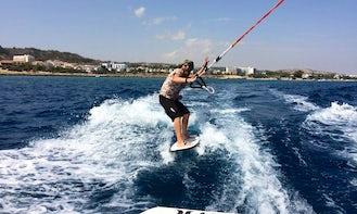 Try Wakesurfing in Protaras, Cyprus